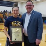 Izzy Geraci Awarded the 2018 Lorain County Miss Basketball Award