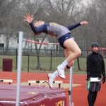 Izzy Geraci sets Meet Record, increases her School Record in High Jump