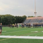 Boys' Soccer Hosts Military Appreciation Night