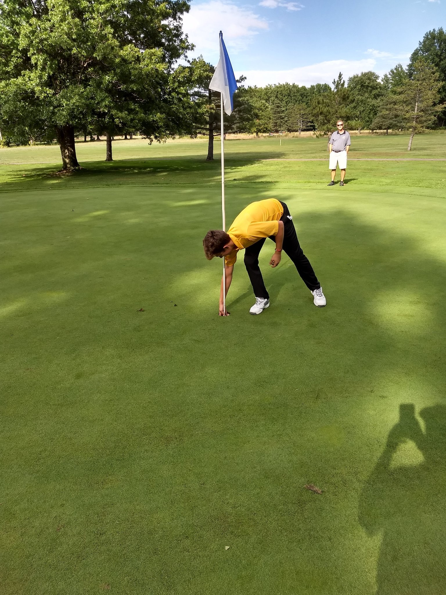 Matej Makes Hole In One