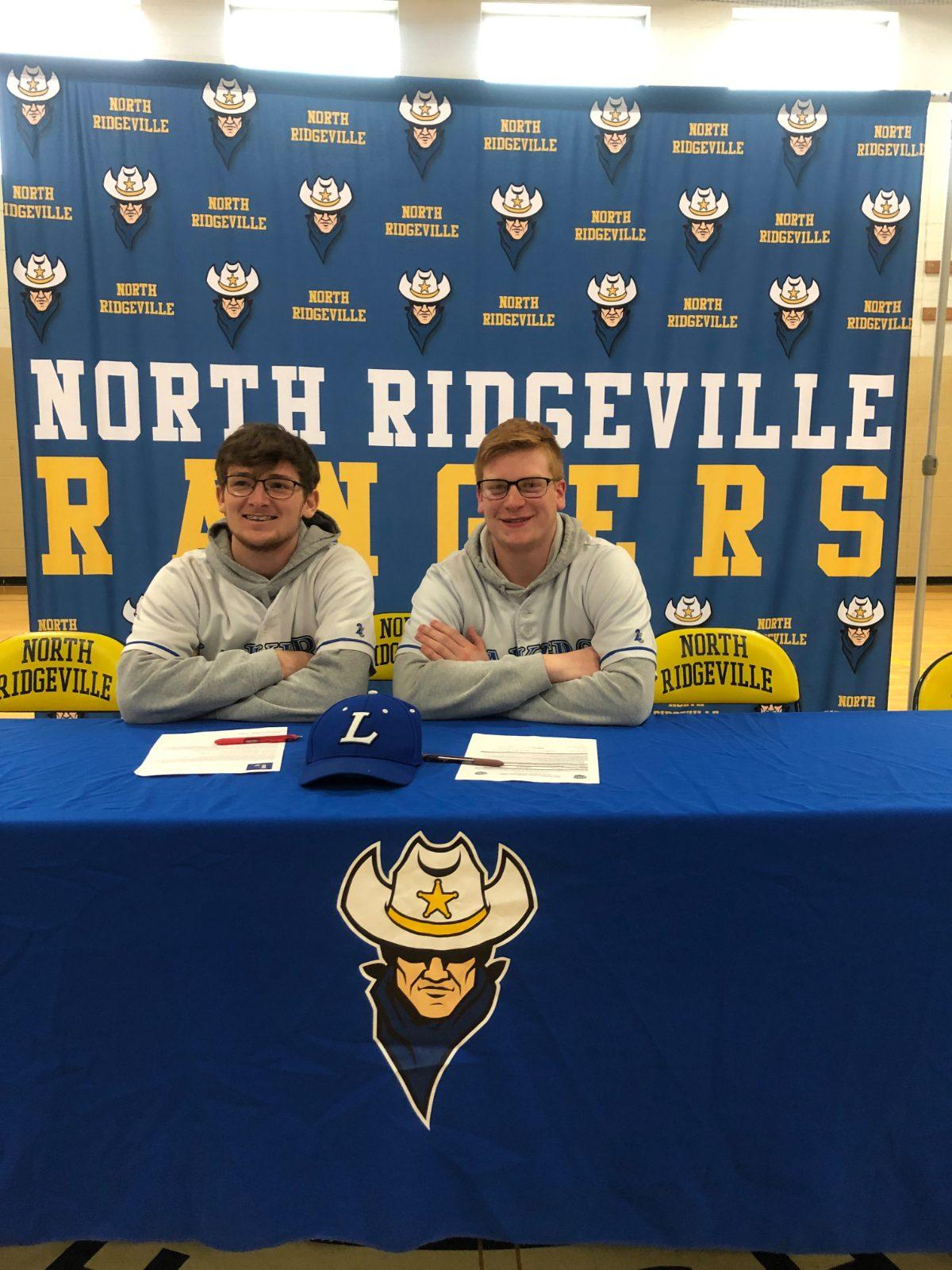 Cade Riley and Ryan Calvert Sign to Lakeland College Baseball
