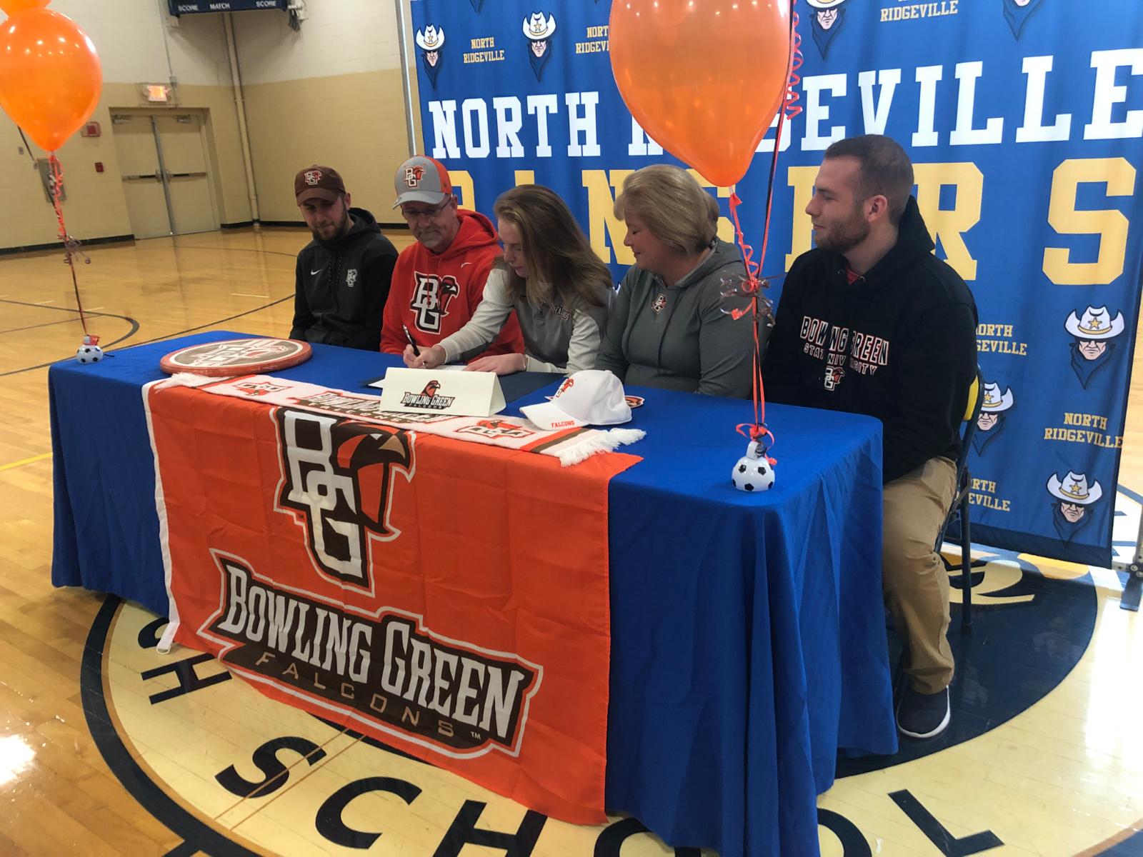 Lauren Milner Signs NLI for Bowling Green State University