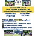 NRHS/ NRASL 2019 Soccer Summer Camp