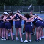 Girls Tennis wins at home
