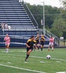 Women's Soccer Vs Bay