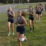 Girls Cross Country at New London Saturday