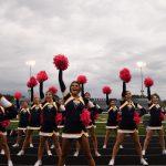 Cheerleaders bring the Spirit