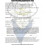 RANGER YOUTH WRESTLING REGISTRATION