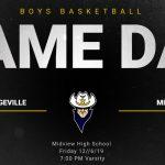 Boys Basketball at Midview