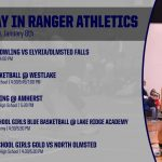 TODAY IN RANGER ATHLETICS 1/8