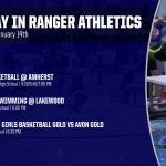 TODAY IN RANGER ATHLETICS 1/14