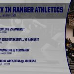 TODAY IN RANGER ATHLETICS 1/15