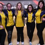 Bowling SWC girls team results