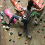 LHWHS Student Places 2nd Overall in Upper Limits High School Climbing Women's Beginner Division.