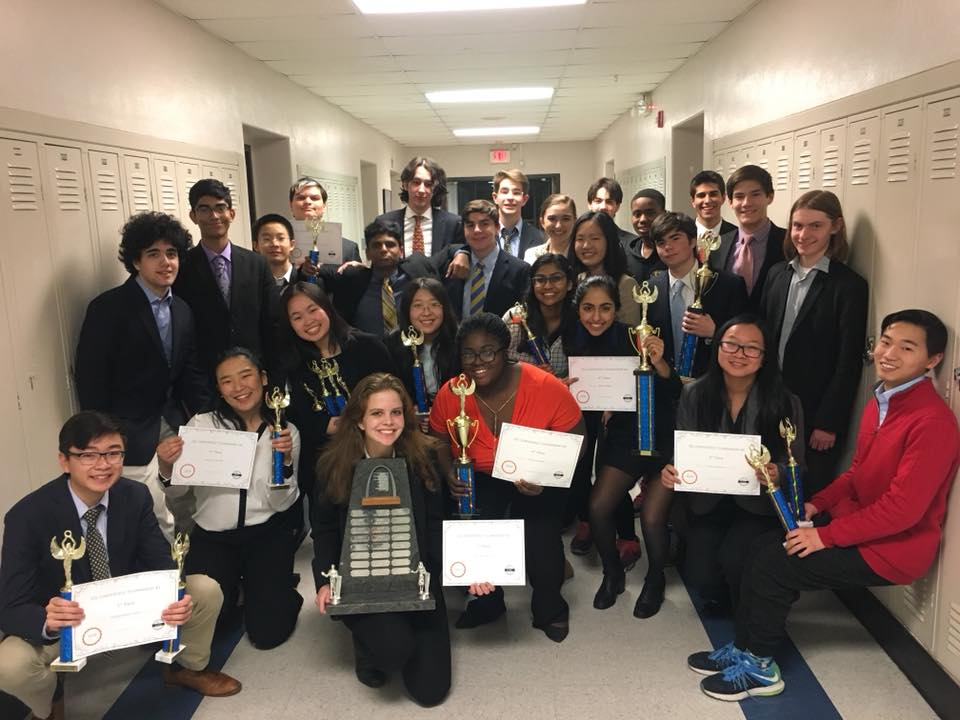 Speech and Debate Team Named Conference Champions!