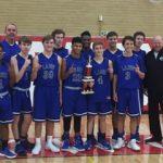 JV Boys Basketball Team Wins Kirkwood Tournament