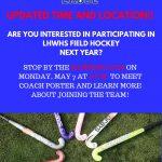 UPDATE-Field Hockey Meeting-May 7