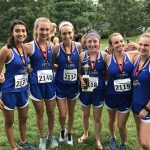 Girls Varsity Cross Country finishes 2nd place at Webster Groves Invite
