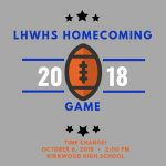 Homecoming Game Time Change-Oct. 6