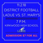DISTRICT FOOTBALL-NOV. 2