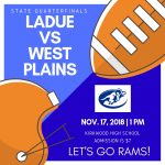 LHWHS FOOTBALL STATE QUARTERFINAL GAME-NOV. 17