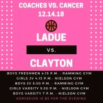 COACHES VS. CANCER-DEC. 14
