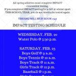 Spring Sport Impact Testing