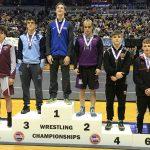 Jake Mann Class 3 120lb. State Champion