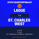 LADUE RAMS WIN SECTIONALS IN OVERTIME!