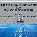 LHWHS Brusca-Strobach Track Invitational-April 20