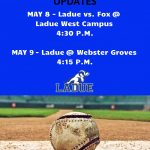 VARSITY BASEBALL GAME UPDATES