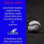 Baseball Game Updates Today-May 8