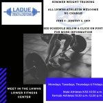 Summer Training Program!