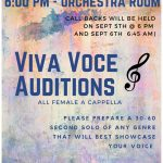 Viva Voce Auditions!