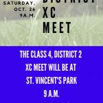 XC CLASS 4, DISTRICT 2 CHAMPIONSHIPS-OCT. 26