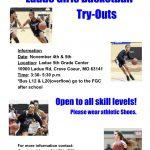 Girls Basketball Try-Outs (Nov 4th & Nov 5th)