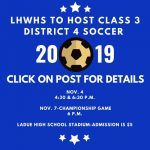 District Soccer Championship Game!
