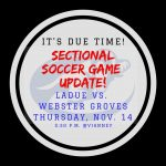 SECTIONAL SOCCER UPDATE