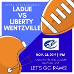 LHWHS Football District Champs & Quarterfinal Game Info!