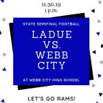 Ladue Rams Head to State Semifinals!