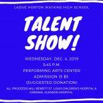 Dance Marathon Talent Show!