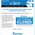 All Ladue Schools Outdoor Recreational Areas Closed Until Further Notice