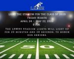 Light the Stadium for the Class of 2020