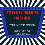 Incoming Freshmen Athletics and Activity Information