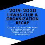 LHWHS Club/Organization Recap