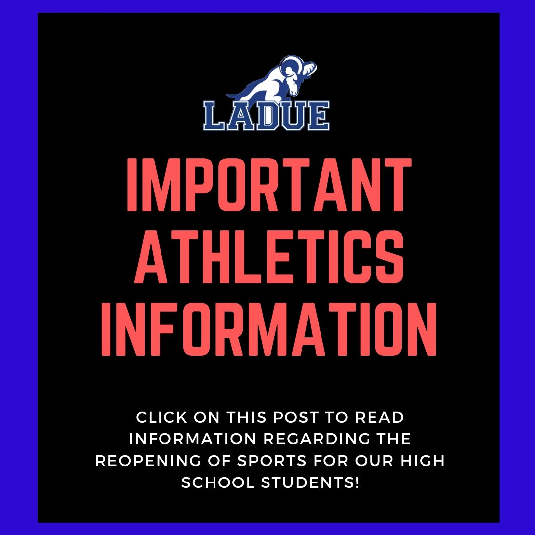 Important LHWHS Athletic Information!