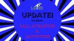 Fall Athletics/Activities Update-Aug. 6