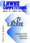 LHWHS Competitions the Week of Sept. 21