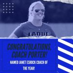 LHWHS Coach Porter Named Coach of the Year