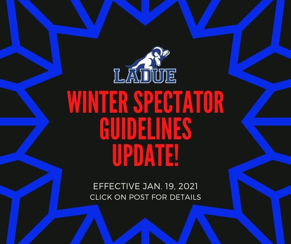 LHWHS SPECTATOR GUIDELINES-UPDATE